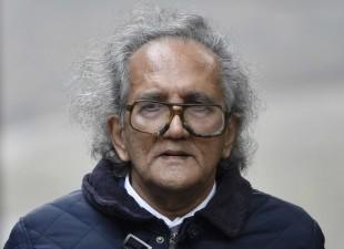 Balakrishnan ao chegar para audiência no tribunal Crédito: REUTERS